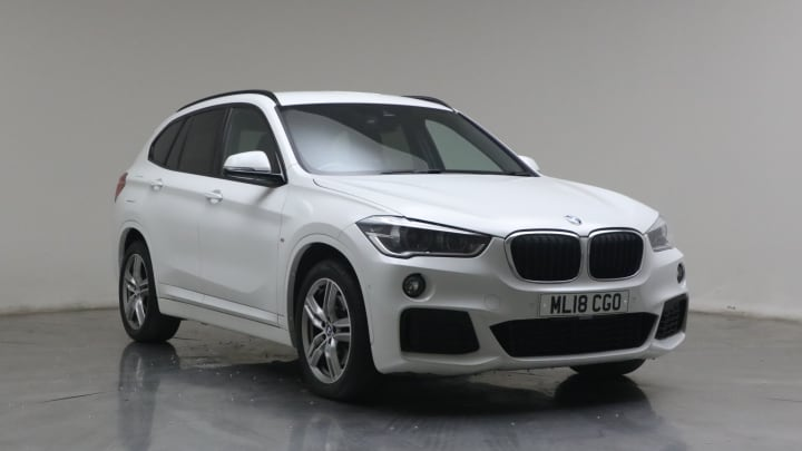 2018 used BMW X1 2L M Sport 25d