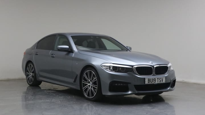 2019 used BMW 5 Series 2L M Sport 520d