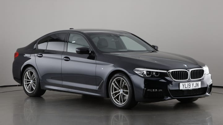 2019 used BMW 5 Series 2L M Sport 520i