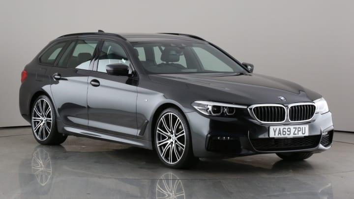 2020 used BMW 5 Series 2L M Sport MHT 520d