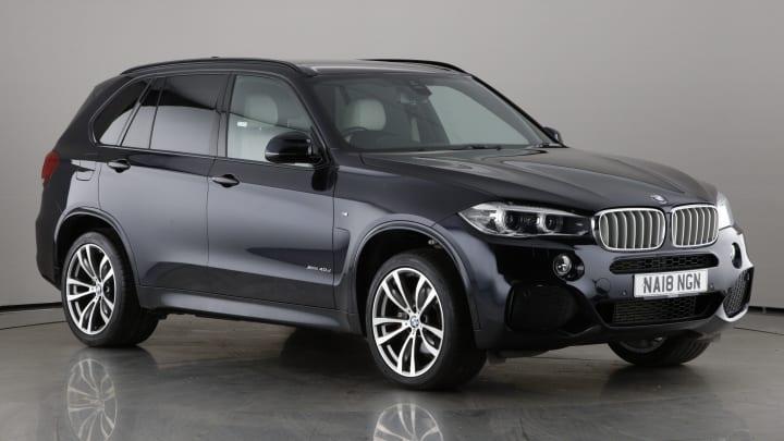 2018 used BMW X5 3L M Sport 40d