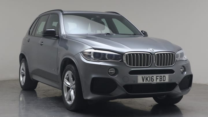 2016 used BMW X5 3L M Sport 40d
