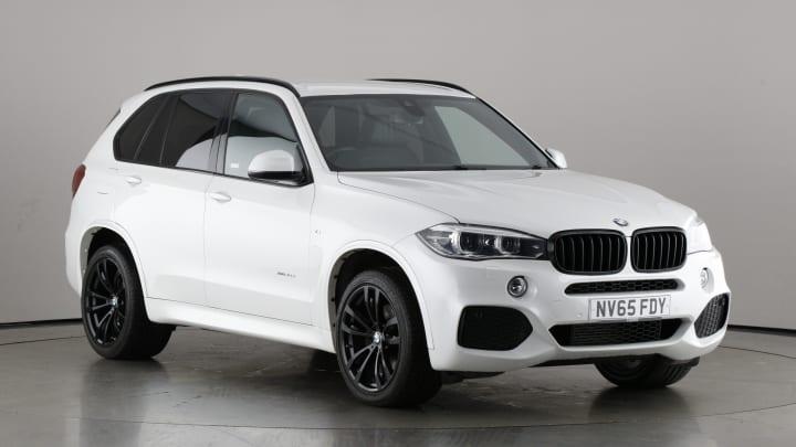 2015 used BMW X5 3L M Sport 40d