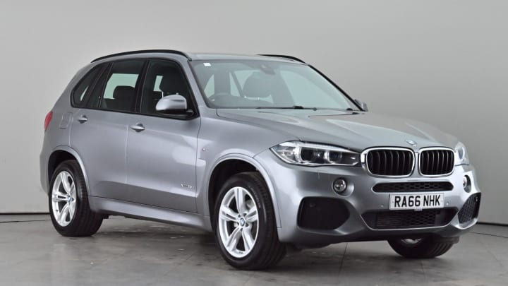 2017 used BMW X5 2L M Sport 25d