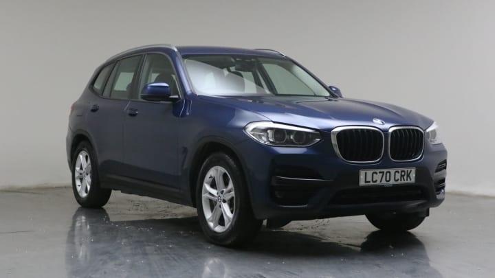 2020 used BMW X3 2L SE 30e