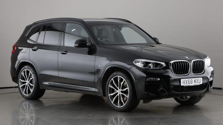 2018 used BMW X3 3L M Sport 30d