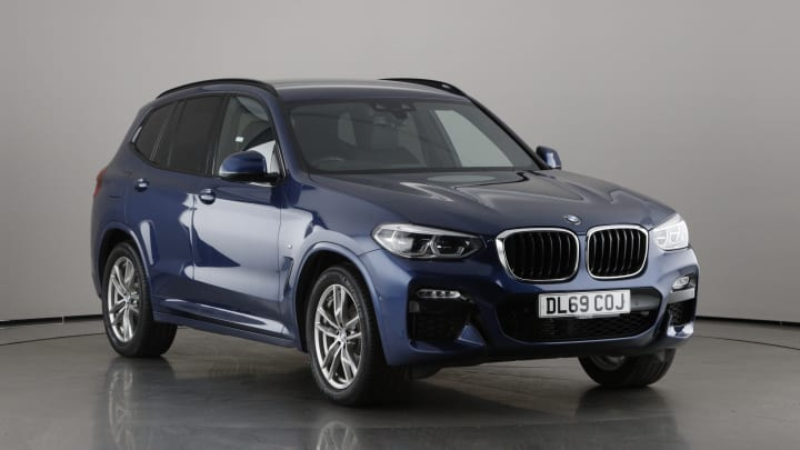 2019 used BMW X3 2L M Sport 20d