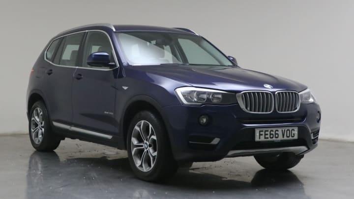 2016 used BMW X3 3L xLine 30d