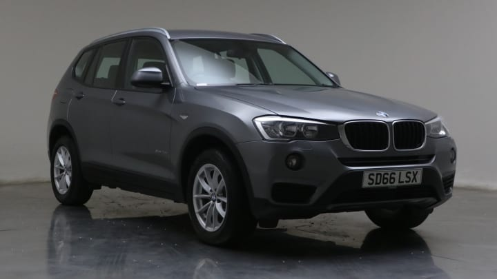 2016 used BMW X3 2L SE 20d