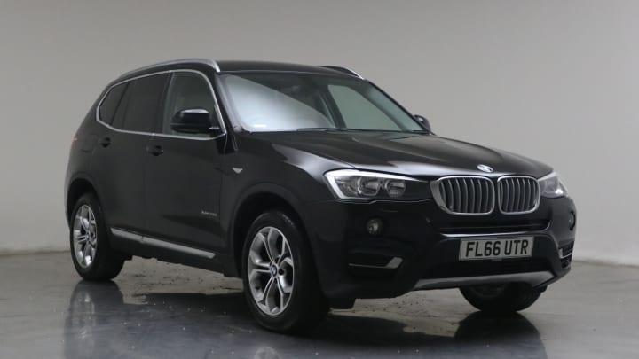2016 used BMW X3 2L xLine 20d