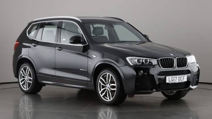 2017 used BMW X3 2L M Sport 20d