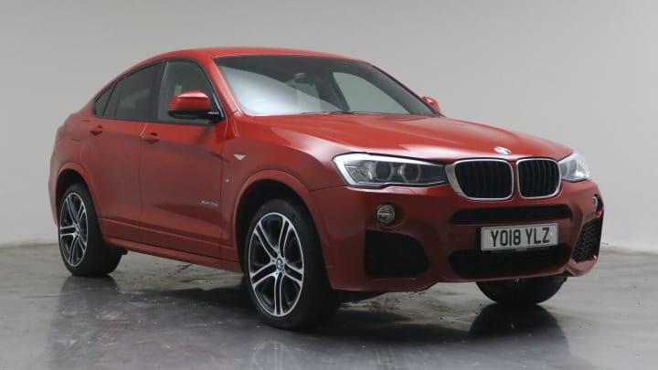 2018 used BMW X4 2L M Sport 20d