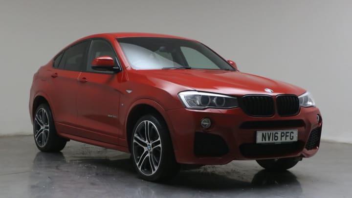 2016 used BMW X4 3L M Sport 30d