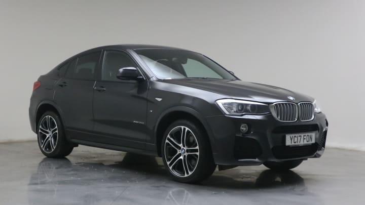 2017 used BMW X4 3L M Sport 30d