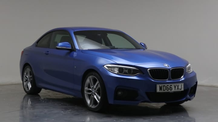 2016 Used BMW 2 Series 2L M Sport 220i