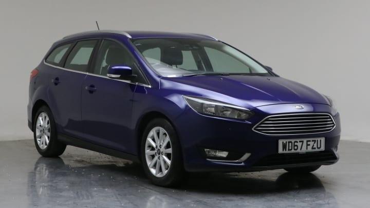 2018 Used Ford Focus 1.5L Titanium EcoBoost T