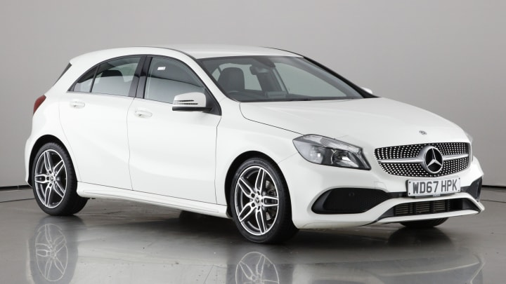 2018 used Mercedes-Benz A Class 1.5L AMG Line A180d