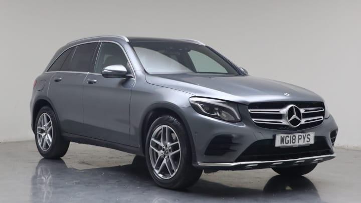 2018 used Mercedes-Benz GLC Class 2.1L AMG Line GLC220d
