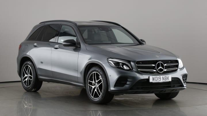 2019 used Mercedes-Benz GLC Class 2L AMG Night Edition GLC250