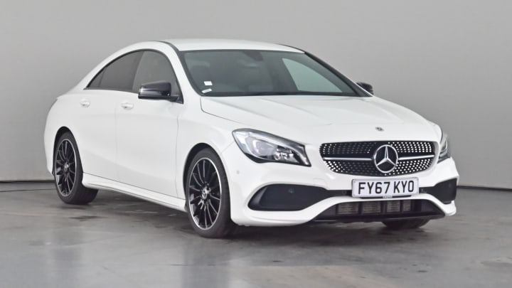 2017 used Mercedes-Benz CLA Class 2.1L AMG Line CLA200d