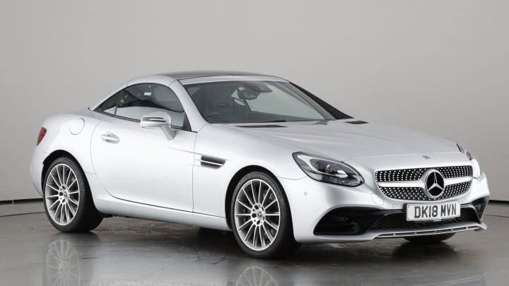 2018 used Mercedes-Benz SLC 2L AMG Line SLC200