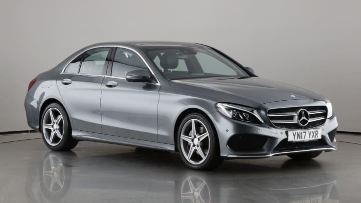 2017 used Mercedes-Benz C Class 2.1L AMG Line C220d