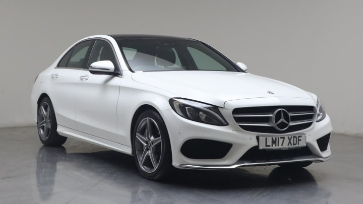 2017 used Mercedes-Benz C Class 2.1L AMG Line C300dh