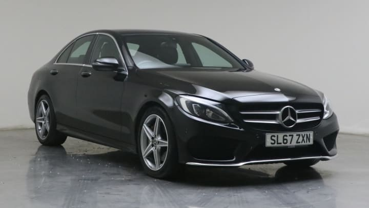2018 used Mercedes-Benz C Class 2.1L AMG Line C300dh