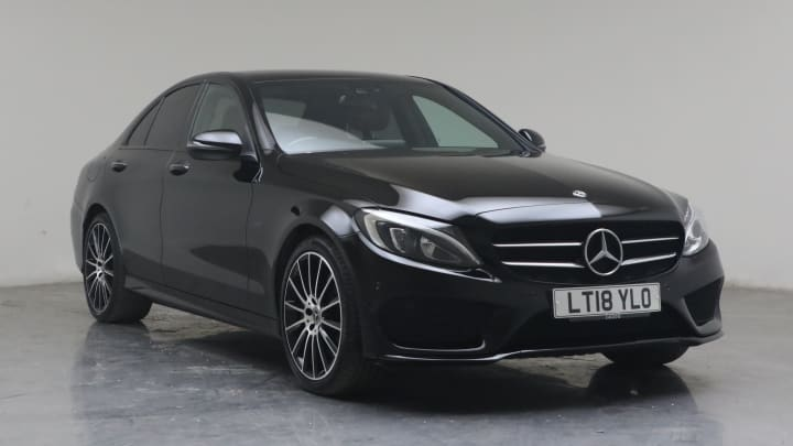 2018 used Mercedes-Benz C Class 2L AMG Line C350e