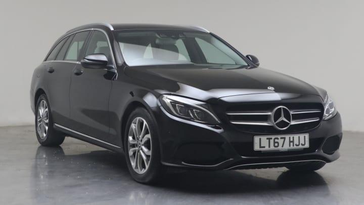 2017 used Mercedes-Benz C Class 2.1L Sport C300dh