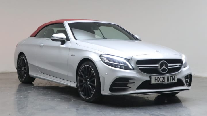 2021 used Mercedes-Benz C Class 3L AMG C43 V6