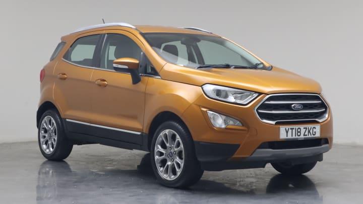 2018 used Ford EcoSport 1L Titanium EcoBoost T