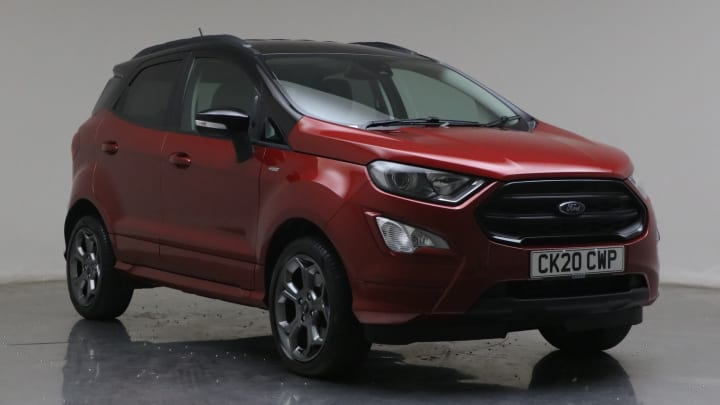 2020 used Ford EcoSport 1L ST-Line Black EcoBoost T