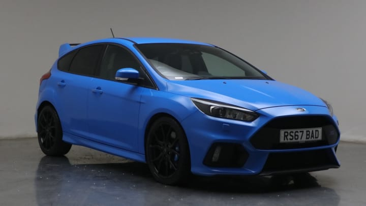 2017 used Ford Focus 2.3L RS EcoBoost T