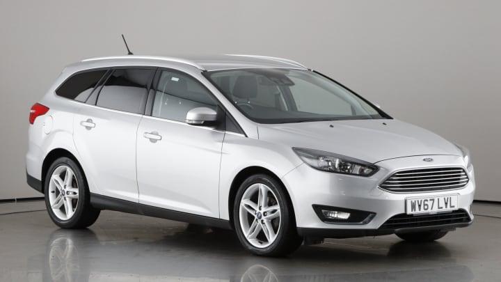 2017 used Ford Focus 1.5L Titanium TDCi