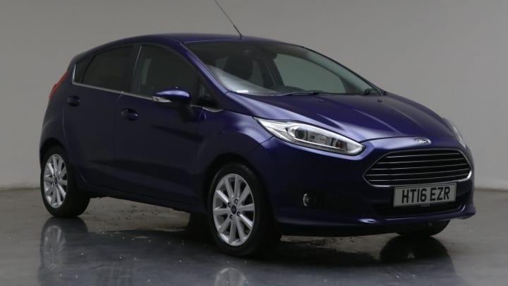 2016 used Ford Fiesta 1L Titanium EcoBoost T