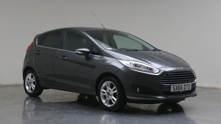 2017 used Ford Fiesta 1L Zetec EcoBoost T