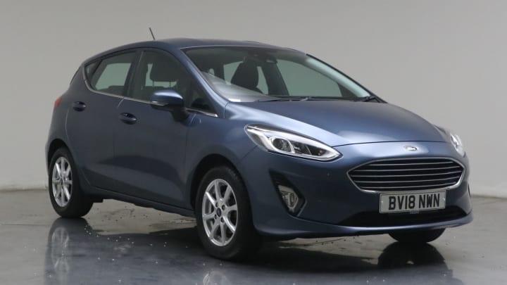 2018 used Ford Fiesta 1.1L Zetec Ti-VCT
