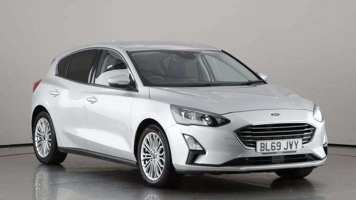 2019 used Ford Focus 1L Titanium X EcoBoost T