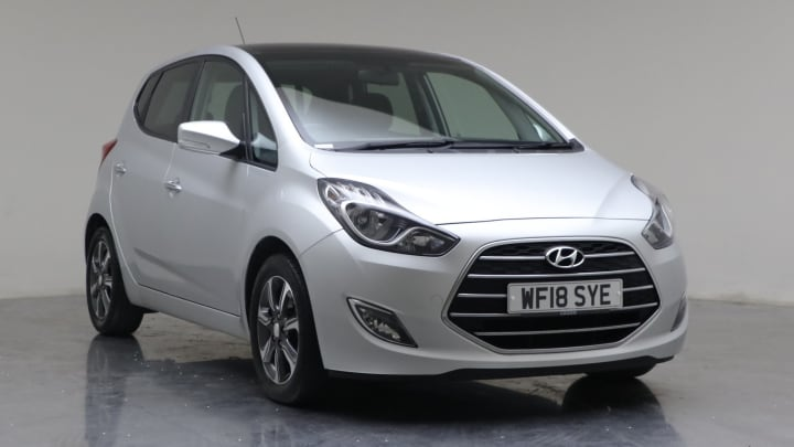 2018 Used Hyundai ix20 1.4L Premium Nav Blue Drive