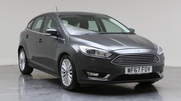 2017 Used Ford Focus 1.5L Titanium X EcoBoost T