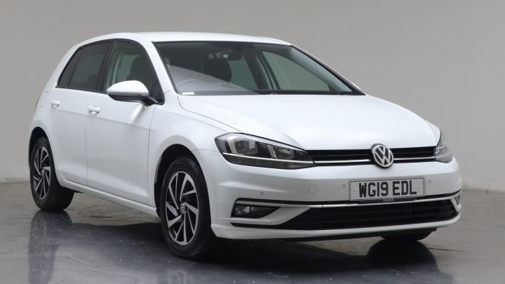 2019 used Volkswagen Golf 2L Match TDI