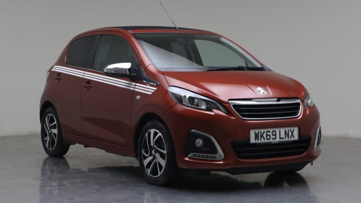 2019 Used Peugeot 108 1L Collection