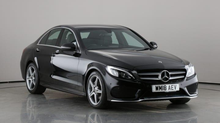 2018 Used Mercedes-Benz C Class 2.1L AMG Line C220d