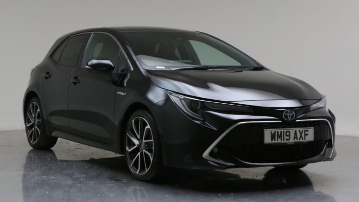 2019 Used Toyota Corolla 1.8L Excel VVT-h
