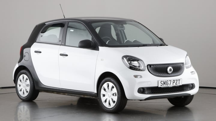2018 used Smart forfour 1L Pure
