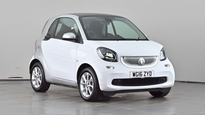 2016 used Smart fortwo 1L Passion