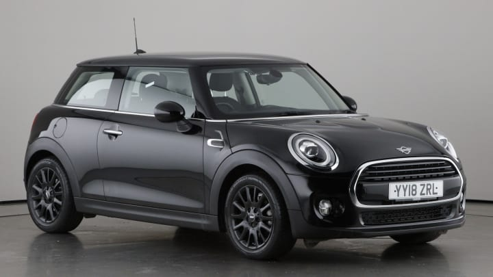 2018 used Mini Hatch 1.5L Cooper
