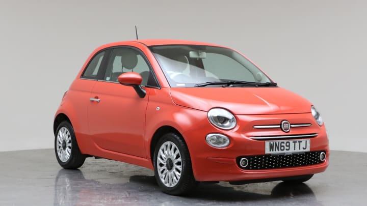 2019 Used Fiat 500 1.2L Lounge 8V