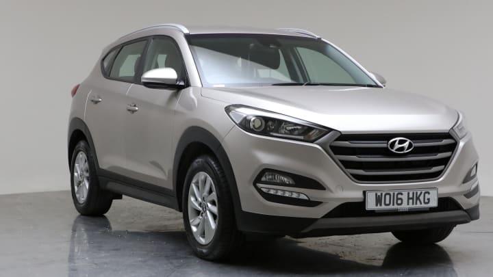 2016 Used Hyundai Tucson 2L SE Nav CRDi